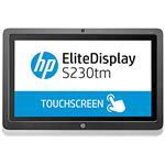 HP EliteDisplay S230tm 23In Touch Monitor
