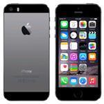 iPhone 5S 4G 16GB 4in iOS Black - Renewed with 2 yr Warranty, cable & adapter