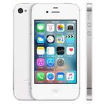 iPhone 4S 3G 32GB 3.5in iOS White - Renewed with 2 yr Warranty, cable & adapter