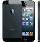 iPhone 5 4g 32GB 4in Ios Black - Renewed with 2 yr Warranty, cable & adapter
