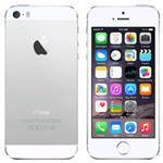 iPhone 5S 4G 32GB 4in iOS White - Renewed with 2 yr Warranty, cable & adapter