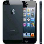 iPhone 5 4G 64GB 4in iOS Black - Renewed with 2 yr Warranty, cable & adapter