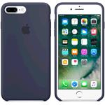 iPhone 7 Plus Silicone Case Mid Blue