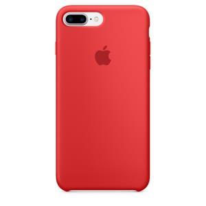 iPhone 7 Plus Silicone Case Red