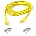 Patch Cable Cat5e Assembled Utp 1m Yellow 350MHz