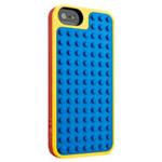 Lego Builder Case In Pc With Functional Lego Base For iPhone 5 In Yellow & Red
