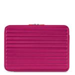 Case/ Bag In Neopene Grey Grooves For Microsoft Surface Pro 3 12in Pink
