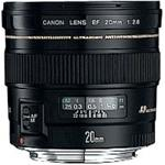 Fixed Focal Length Lens Ef 20mm For 2.8 Usm