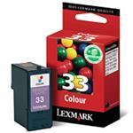 Ink Cartridge #33 Colour 250sh (018cx033e)