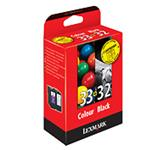 Ink Cartridge Combo N 32 / 33 Blister With Alarm