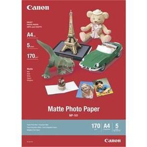 Matte Photo Paper Mp-101 A4 5sh