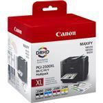Ink Cartridge Pgi-2500xl Black And Tri-colour Bk/c/m/y  High Capacity Multipack