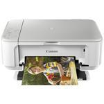 Multifunction Photo Inkjet Printer Pixma Mg3650 A4 10ppm Auto Duplex 2400x1200 Dpi USB Wifi White