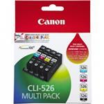 Ink Cartridge Cli-526 C/m/y/bk Photo Value Bl W/sec
