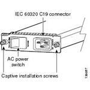 Cisco Ac Power Entry Module For Cisco 7603 Spare