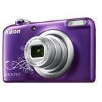 Bundle / Digital Camera Coolpix A10 16.1 Mpix 5x Op 4x Digital Zoom 2.7in LCD Purple + 8GB Microsdhc