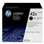 Toner Cartridge Black 2-pk (q5942xd)