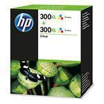 Ink Cartridge 300XL Tri-color - Twin pack