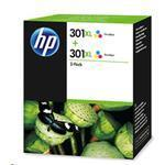 Ink Cartridge No 301xl Tri-color - Twin Pack