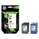 Ink Cartridge No 21/22 Combo-pack Blister