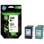Ink Cartridge No 350/351 Combo Pack Blister