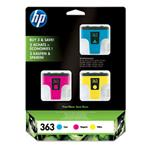 Ink Cartridge No 363 3-pack With Vivera Ink Blister