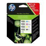Ink Cartridge No 920XL CMYK Combo Pack