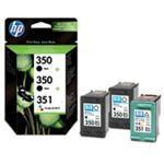 Ink Cartridge No 350/350/351 3 Pack