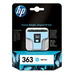 Ink Cartridge No 363 Light Cyan (5.5ml) Blister