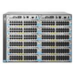Switch 5412R zl2, 96 10GbE ports or 288 autosensing 10/100/1000 ports or 288 mini-GBICs