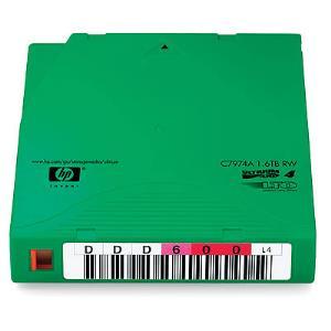 Data Cartridge LTO-4 Ultrium 1.6TB RFID Non Custom Labeled (20-pk)