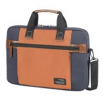 Sideways Laptop Bag 15.6in blue / orange (SA1777)