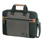 Sideways Laptop Bag 15.6in black / grey (SA1778)