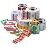 8000d Jewelry Labels (width: 2.20 Inch Length: 0.50 Inch Butterfly With Flaps 4400 Per Roll