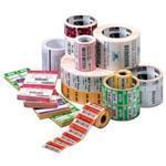 Thermal Paper Jewelry 8000d Labels 2.20in X 0.50in Butterfly Without Flaps, 3510lpr 6 Roll Pack