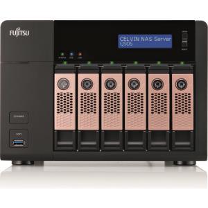 Celvin Q905 6bay Nas Server Celeron J1900 Quad-Core 6x 4TB Sata/600 Raid 0, 1, 5, 6, 10 Gbit