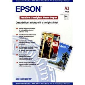 Paper Photo Premium Semigloss A3 20sheet (c13s041334)