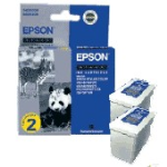 Ink Cartridge Black Double Pack (c13t050142)
