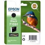 Ink Cartridge Photo Black Cartridge (t1591) Kingfisher Inks
