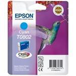 Ink Cartridge Hummingbird Inks Cyan (t0802) Blister Pack With Rf+a
