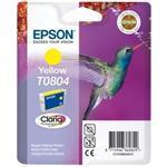 Ink Cartridge Hummingbird Inks Yellow T0804 Blister Pack 520 Pages(c13t08044011)