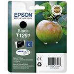 Ink Cartridge T1291 Black Blister Pack With Rf+am Security Tags