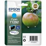 Ink Cartridge T1292 Cyan Blister Pack With Rf+am Security Tags