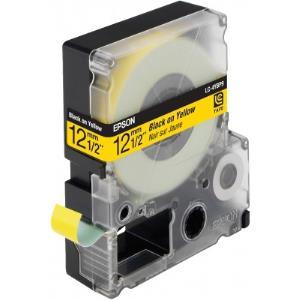 Tape Lc-4ybp9 - Pastel Black On Yellow 12mm T