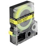 Tape Lc-4ybf9 - Fluorescent Black On Yellow 12mm