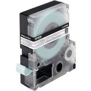 Tape Lc-4twn9 - Transparent Black On Transparent 12mm