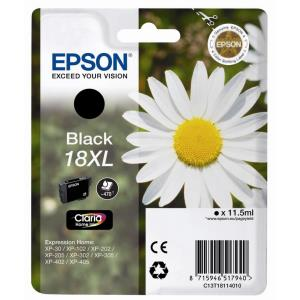 Ink Cartridge 18xl Ser Daisy Black Rs Rf+am