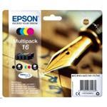 Ink Cartridge Multipack 4-colour 16 Easymail Blck/cy/mg/y In Rs Blister Pack