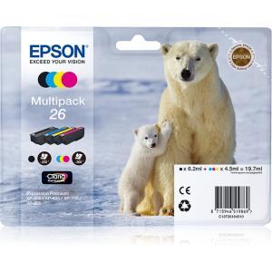 Ink Cartridge Multipack 4-colours 26xl Claria Premium Ink (c13t26164010)