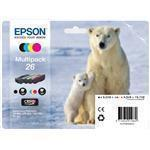 Ink Cartridge 26 Series Polar Bear Multipack 4-colours Blister